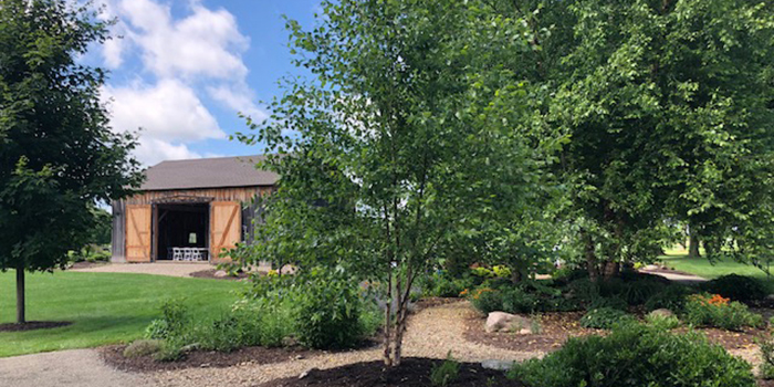 Landscaping at Goodell Gardens in Edinboro