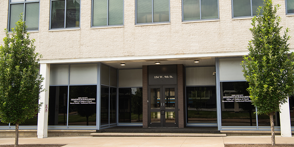 Erie County Department of Human Services building