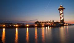 Erie's Bicentennial Tower and Dobbins Landing