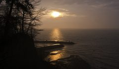 Shades Beach on Lake Erie in Harborcreek Township