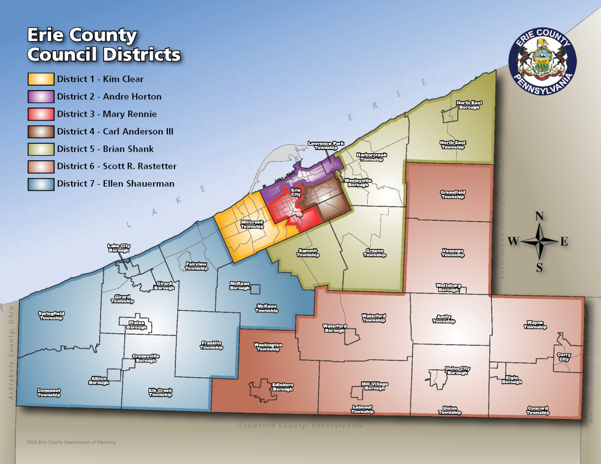 Picture of: Districts Erie County Pa