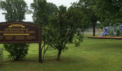 Springfield Bicentennial Park in West Springfield, Erie County